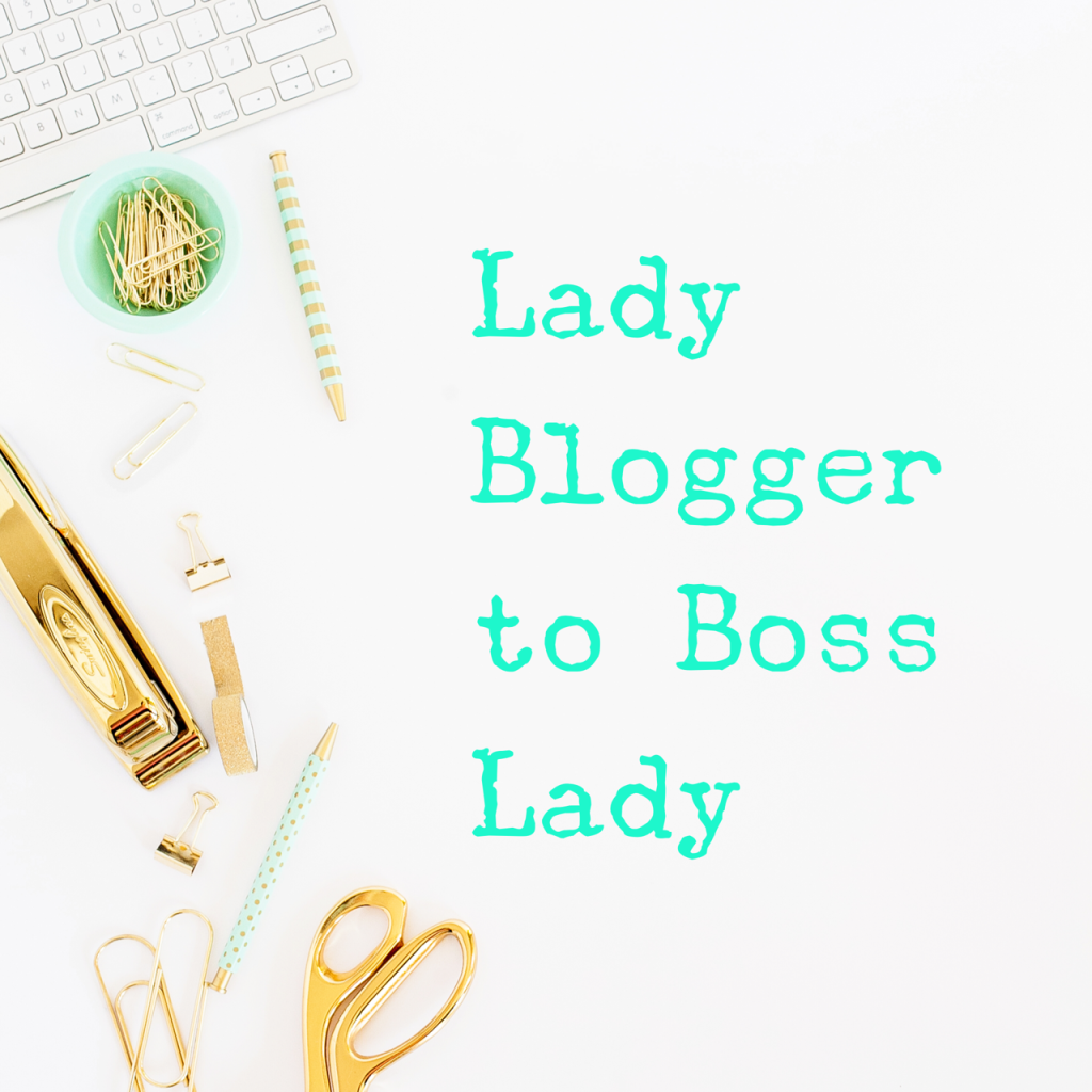 lady blogger e-course cover