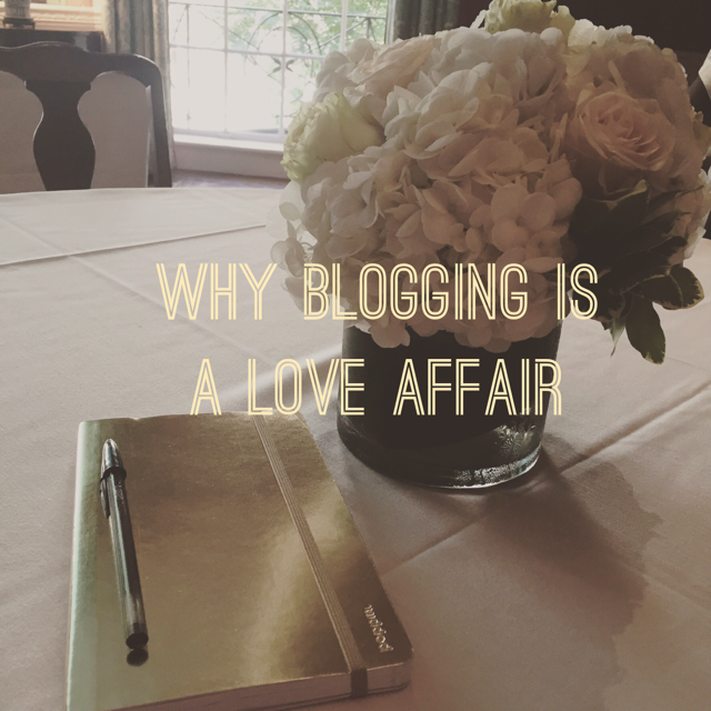 blogging is a love affair